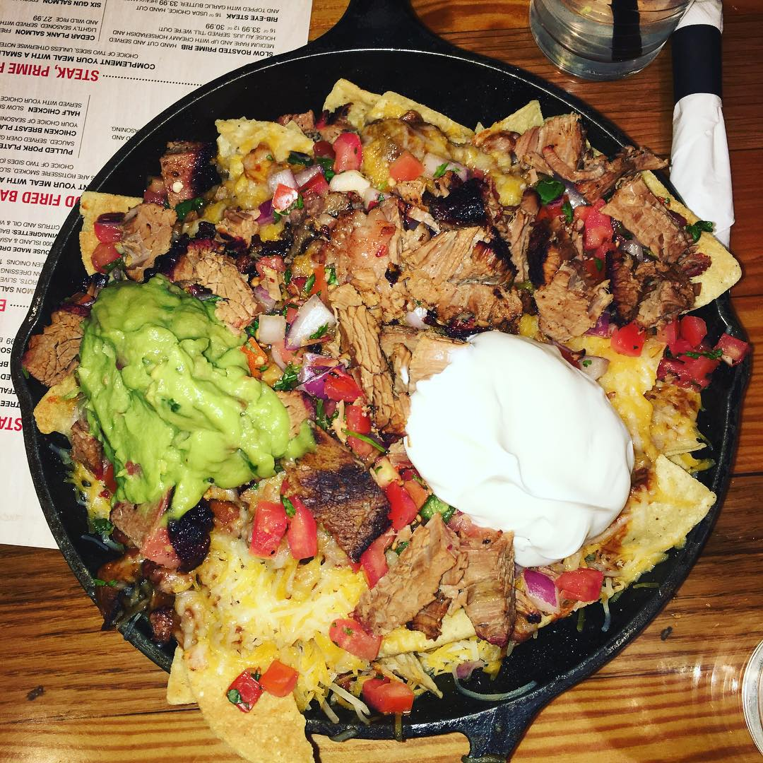 Buffalo Nachos of No Name Saloon