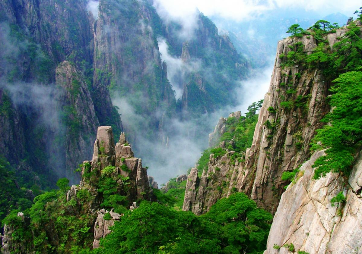 Yellow Mountains of Anhui Province